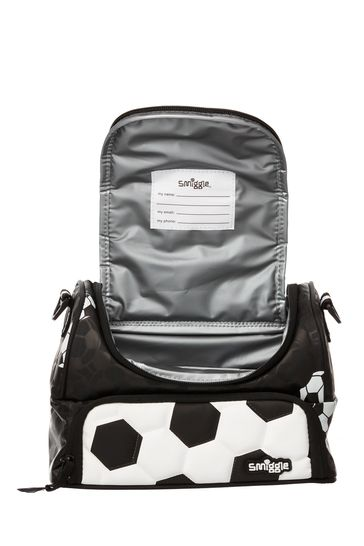 Smiggle Goal Lunchbox with Football Print