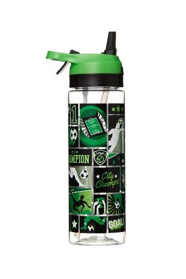Smiggle Green Viva Spritz Flip Spout Drink Bottle