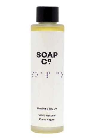 The Soap Co. 100 Natural Body Oil 100ml