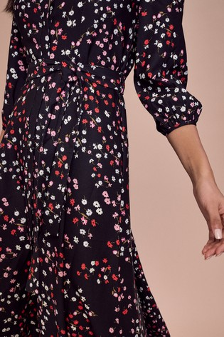 Lipsy Multi Maxi Shirt Dress