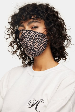 Topshop 3 Pack Printed Face Covering