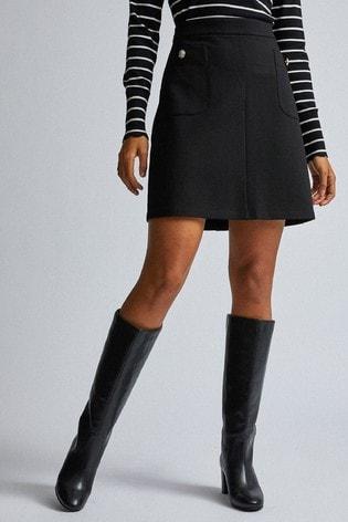 Dorothy Perkins Tall Popper Mini Skirt