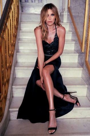 united kingdom affordable price huge selection of Buy Abbey Clancy x Lipsy Petite Sequin Cowl Maxi Dress from Next ...