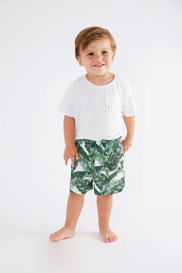 Personalised Mini Boys Pyjama Set By HA Designs