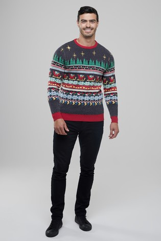 Buy Broken Standard Wrapping Paper Christmas Jumper from