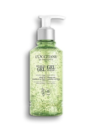 L'Occitane Cleansing Infusions Cleansing Gel To Foam 200ml