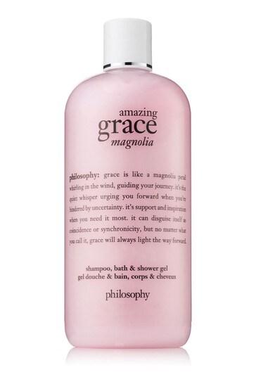 Philosophy Amazing Grace Magnolia Shampoo, Bath and Shower Gel 480ml