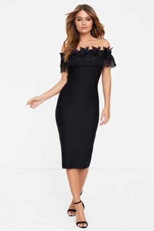 Forever Unique Bardot Bodycon Dress