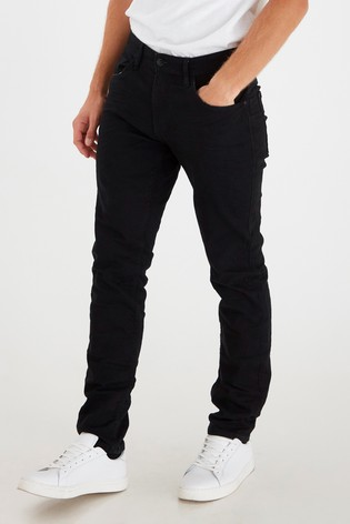 Blend Black Jogg Denim Jeans Regular Fit