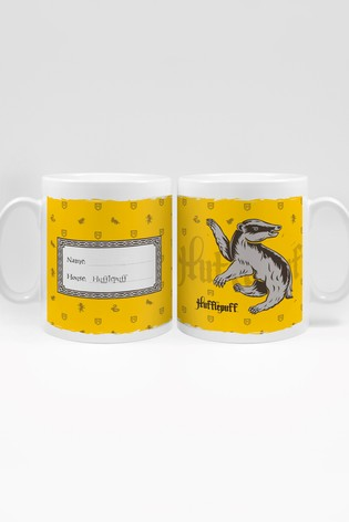 Personalised Harry Potter Hufflepuff House Mug By YooDoo