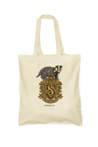 Personalised Harry Potter Hufflepuff House Shopper By YooDoo