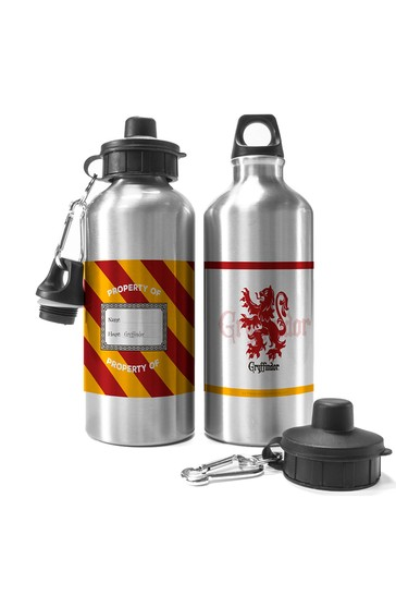 Personalised Harry Potter Gryffindor House Water Bottle By YooDoo