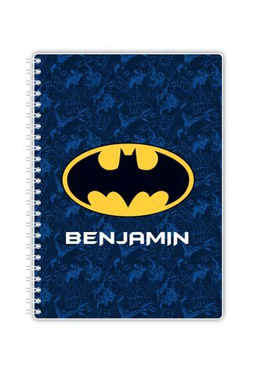Personalised A5 Batman Notebook By YooDoo