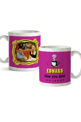 Personalised Friends Mug - How you doin'? By YooDoo