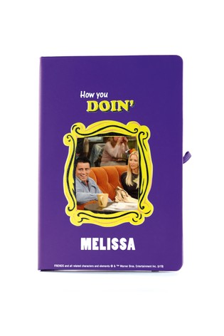 Personalised Friends Notebook By YooDoo - How You Doin'?