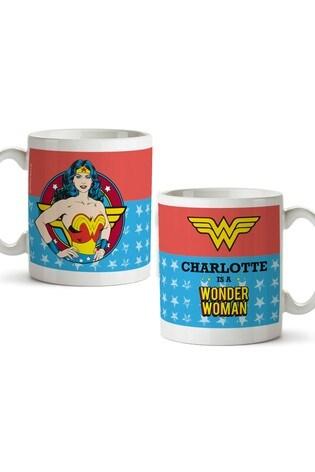 Personalised Wonder Woman Mug By YooDoo