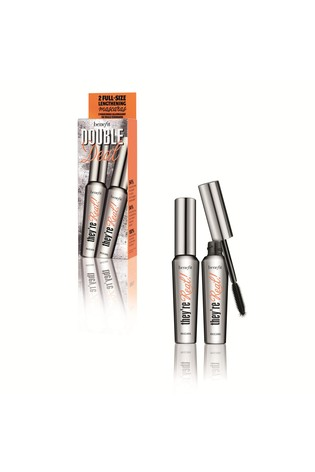 Benefit Double Deal They're Real Lengthening Mascara Black Duo Set