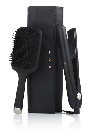 ghd Gold with Paddle Brush, Box & Heat-Resistant Bag - Worth Over £192