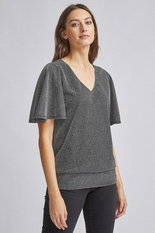 Dorothy Perkins V neck Batwing Top
