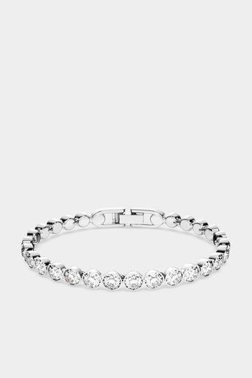 Swarovski Silver Tennis Bracelet