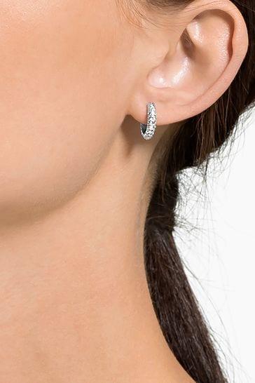Swarovski® Stone Pierced Earrings