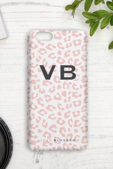 Personalised Leopard Print Phone Case