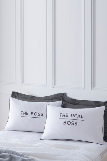 Personalised Boss / Real Boss Pillowcase Set By Koko Blossom