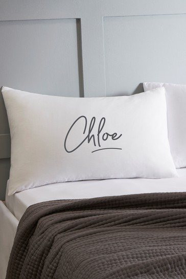 Personalised Signature Pillowcase By Koko Blossom