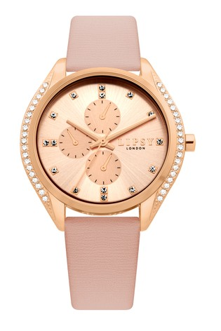 Lipsy Diamanté Chronograph Watch