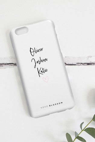 Personalised Lipsy Childrens Names Phone Case By Koko Blossom