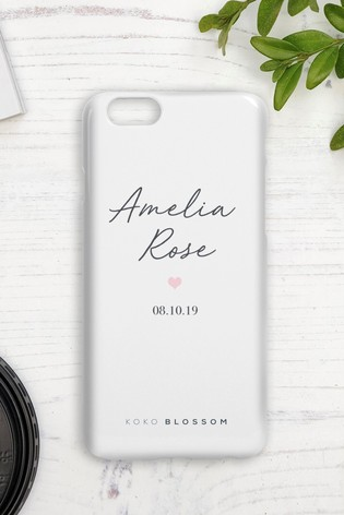 Personalised Baby Girl Phone Case By Koko Blossom