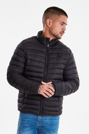 Blend Zip Through Padded Jacket