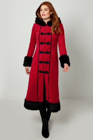 Joe Browns Red Devilish Coat