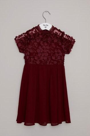 Chi Chi London 3D Floral Girls Dress