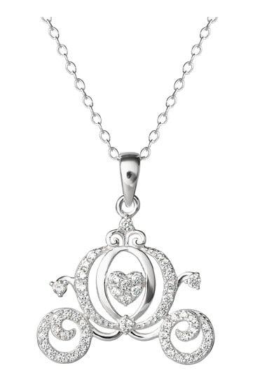 Disney Sterling Silver Princess Adult Necklace