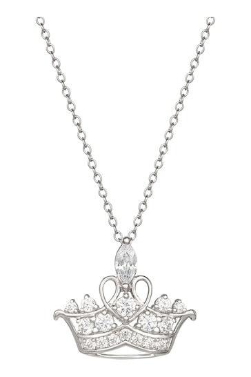 Disney Sterling Silver Princess Necklace