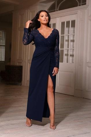 Sistagam Loves Jessica Lace Maxi Dress