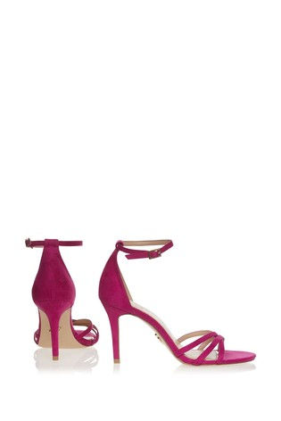 Lipsy Pink Barely There Heeled Sandal
