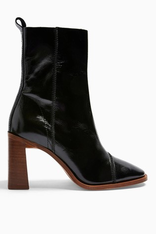 Topshop Homerun Leather Boots