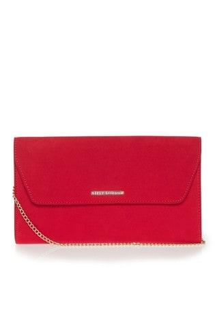 Lipsy Red Envelope Clutch Bag