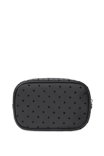 Victoria's Secret Velvet Dot Beauty Case