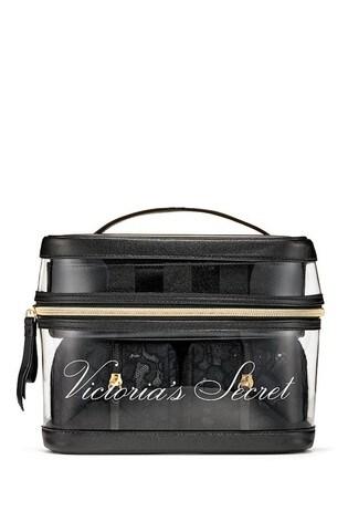Victoria's Secret Floral Lace 4-in-1 Beauty Bag Set