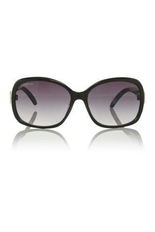 Lipsy Black Oversized Sunglasses
