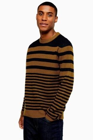 Topman Stripe Jumper