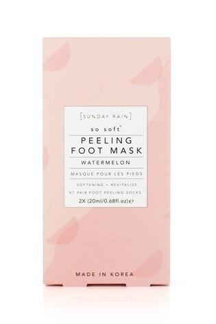 Sunday Rain Softening and Revitalise Peeling Foot Mask
