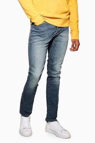 Topman Stretch Slim Jeans