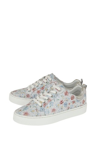 Lotus Grey Leather Comfort Casual Shoes
