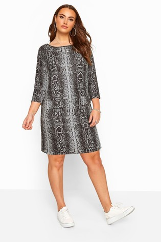 Yours Curve Roll Neck Pocket Tunic