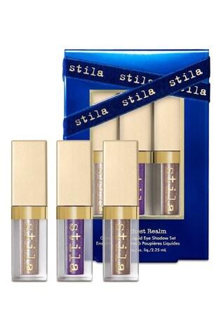Stila The Highest Realm Glitter And Glow Liquid Eye Shadow Set 3 x 2.25ml (Worth £36)
