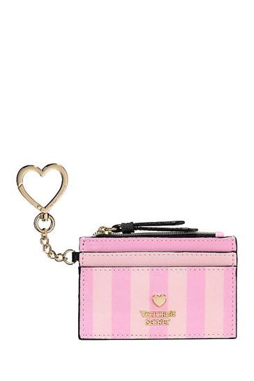 Victoria's Secret Signature Stripe Card Case